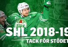 Stöd Rögle som vinnare av SHL 2018/2019